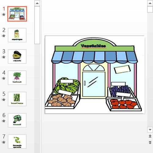 Презентация Vegetables