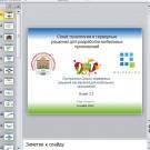 Презентация Разработка мобильных приложений