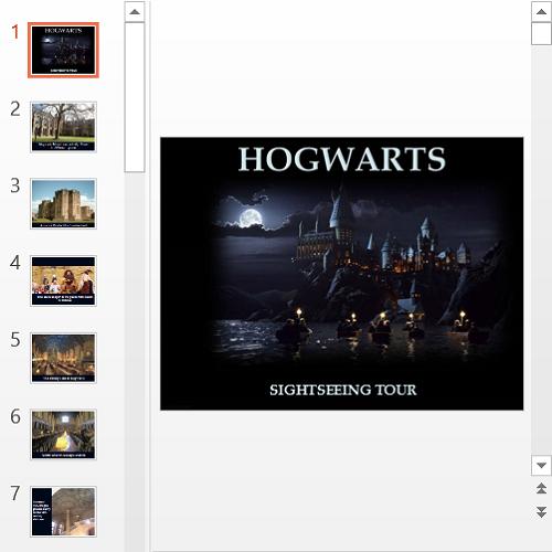 Презентация Hogwarts