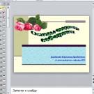 Презентация Основы создания веб-страниц