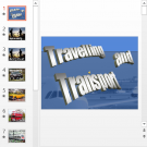 Презентация Travelling and Transport