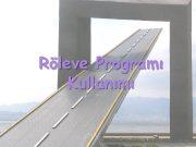Röleve Programı Kullanımı Programa Giriş Programa C