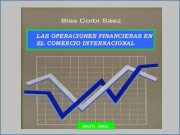 LAS OPERACIONES FINANCIERAS EN EL COMERCIO INTERNACIONAL MAYO