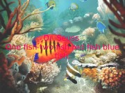 Dr. Seuss One fish two fish red fish