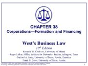 12 § 1: The Nature of the Corporation