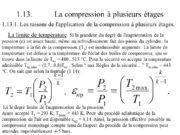 1. 13. La compression à plusieurs étages La