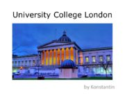 University College London by Konstantin