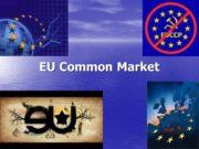 EU Common Market. EU Common Market Freedom of