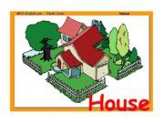 House. Garage. Garden. Kitchen. Bedroom. Stairs. Bathroom