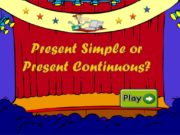 Present Simple or Present Continuous? Choose the correct
