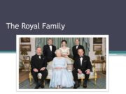 The Royal Family. Queen Elizabeth II Born in