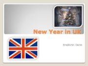 New Year in UK Bredikhin Denis History New