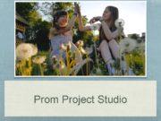 Prom Project Studio. Будем знакомы Микита Анна Сейчас: