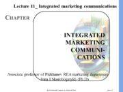 Slide 15 -2 INTEGRATED MARKETING COMMUNI- CATIONS CHAPTER