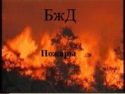 БжД Пожары Содержание: Пожары. Опасные факторы пожара. Действия