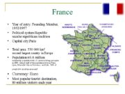 France Year of entry: Founding Member, 1952/1957 Political