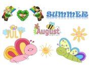 SUMMER In Summer everybody is happy Children don't