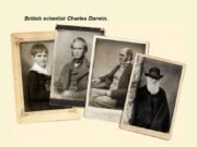 British scientist Charles Darwin. Darwin's Trip Around the