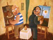 «Портрет Магдалены Вентура с мужем (и сыном)» Хусепе