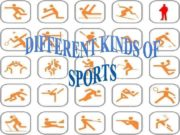 Sports are activities requiring a good deal of
