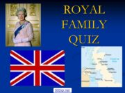 ROYAL FAMILY QUIZ 900igr.net Королева Елизавета II –