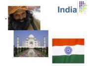 India Тема презентации: geography India has land borders