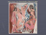 Pablo Picasso, Les Demoiselles d'Avignon,1907 Georges Braque Houses