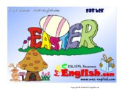 Copyright © 2009 MES-English.com Easter the Easter Bunny