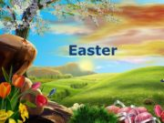 Easter Easter is celebrated every spring. It is
