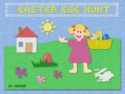 BY HERBER Easter is in the spring. Children
