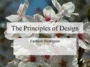 The Principles of Design  Fashion Strategies