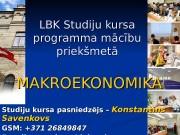 LBK Studiju kursa programma mācību priekšmetā