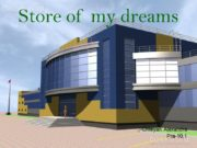Store of my dreams Chteyan Alexandra Pra-10,1 CONTENTS