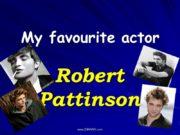 My favourite actor Robert Pattinson www.ZHARAR.com His real
