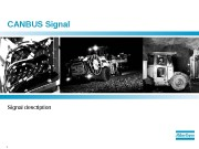 1  CANBUS Signal description  2