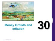Copyright © 2004 South-Western 3030 Money Growth and