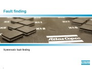 1  Fault finding Systematic fault finding