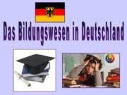 Das Bildungswesen in Deutschland Die Struktur Die Elementarstufe
