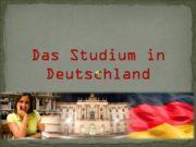 Das Studium in Deutschland Die Universitäten in Deutschland