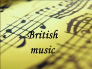 "British music ""Music is a higher revelation than"