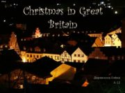 Christmas in Great Britain Деревнина Алёна А-12 Christmas