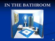 IN THE BATHROOM BATH SHOWER SHOWER CABIN SINK