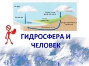 ГИДРОСФЕРА И  ЧЕЛОВЕК  Водные ресурсы