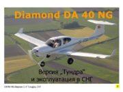 Diamond DA 40 NG DA40-NG Версия 1.4 Тундра,