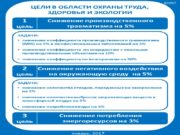 EHSТ ЗАДАЧИ: снижение коэффициента производственного травматизма (MIR) на