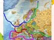 Альпийские страны: Франция, Германия, Швейцария, Лихтенштейн, Австрия, Италия,
