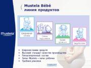 Mustela Bébé линия продуктов Ежедневная гигиена Смена подгузников