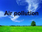 Air pollution 20 000 deaths per year in