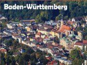 Baden-Württemberg Flȁche: 35 752 km Einwohner: 10, 40