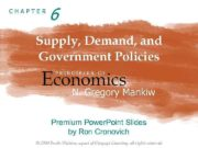 CHAPTER 6 Supply, Demand, and Government Policies Economics
